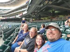 BrandonS attended Minnesota Twins vs. Cleveland Indians - MLB on Jun 25th 2021 via VetTix