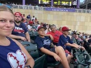 Tasha  attended Minnesota Twins vs. Chicago White Sox - MLB on Jul 5th 2021 via VetTix