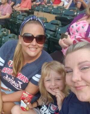 Amanda attended Minnesota Twins vs. Chicago White Sox - MLB on Jul 5th 2021 via VetTix