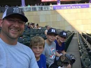 MK attended Minnesota Twins vs. Chicago White Sox - MLB on Jul 5th 2021 via VetTix