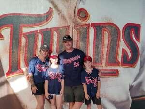 Jay Busch attended Minnesota Twins vs. Chicago White Sox - MLB on Jul 5th 2021 via VetTix