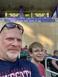 Tom attended Minnesota Twins vs. Chicago White Sox - MLB on Jul 5th 2021 via VetTix