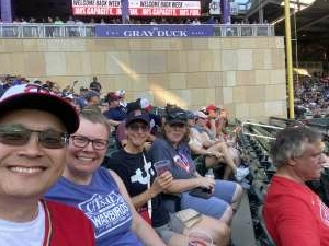 Bill attended Minnesota Twins vs. Chicago White Sox - MLB on Jul 5th 2021 via VetTix