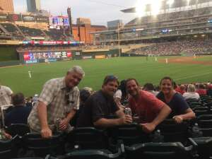 Dan and Robyn attended Minnesota Twins vs. Chicago White Sox - MLB on Jul 5th 2021 via VetTix