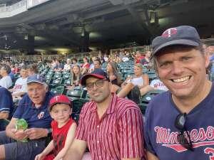 Nathan attended Minnesota Twins vs. Chicago White Sox - MLB on Jul 5th 2021 via VetTix