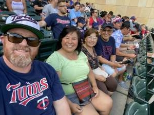 Michael Brown attended Minnesota Twins vs. Chicago White Sox - MLB on Jul 5th 2021 via VetTix