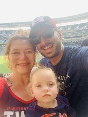W Family attended Minnesota Twins vs. Chicago White Sox - MLB on Jul 5th 2021 via VetTix