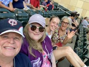 Kshaw attended Minnesota Twins vs. Chicago White Sox - MLB on Jul 5th 2021 via VetTix