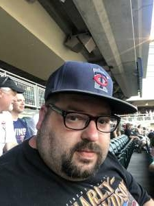 Robert  attended Minnesota Twins vs. Chicago White Sox - MLB on Jul 5th 2021 via VetTix