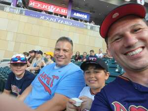 Mike attended Minnesota Twins vs. Chicago White Sox - MLB on Jul 5th 2021 via VetTix