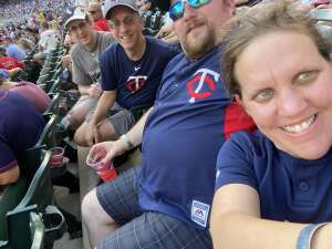 MP attended Minnesota Twins vs. Chicago White Sox - MLB on Jul 5th 2021 via VetTix
