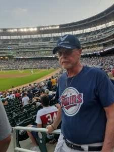 Capt T attended Minnesota Twins vs. Chicago White Sox - MLB on Jul 5th 2021 via VetTix