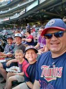 Doc attended Minnesota Twins vs. Chicago White Sox - MLB on Jul 5th 2021 via VetTix