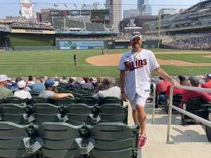 Jeff attended Minnesota Twins vs. Detroit Tigers - MLB on Jul 11th 2021 via VetTix