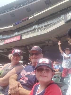 Ron attended Minnesota Twins vs. Detroit Tigers - MLB on Jul 11th 2021 via VetTix