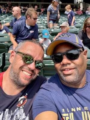 Henry H.  attended Minnesota Twins vs. Detroit Tigers - MLB on Jul 11th 2021 via VetTix