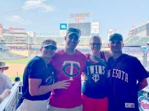 JP attended Minnesota Twins vs. Detroit Tigers - MLB on Jul 11th 2021 via VetTix