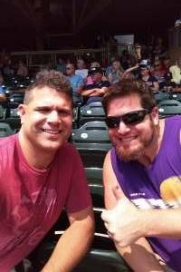 sollman attended Minnesota Twins vs. Detroit Tigers - MLB on Jul 11th 2021 via VetTix