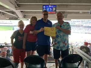 Rabbit at Twins attended Minnesota Twins vs. Detroit Tigers - MLB on Jul 11th 2021 via VetTix