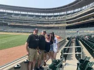 Lew Andrews attended Minnesota Twins vs. Detroit Tigers - MLB on Jul 11th 2021 via VetTix