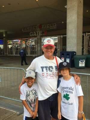 pete twins attended Minnesota Twins vs. Detroit Tigers - MLB on Jul 11th 2021 via VetTix