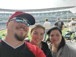 Cameron attended Minnesota Twins vs. Detroit Tigers - MLB on Jul 11th 2021 via VetTix