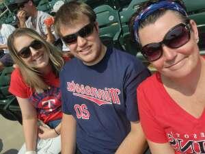 Shannon attended Minnesota Twins vs. Detroit Tigers - MLB on Jul 11th 2021 via VetTix