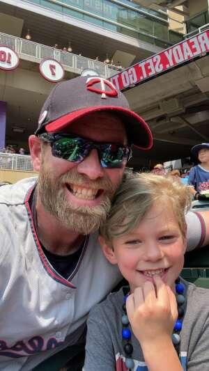 Allen  attended Minnesota Twins vs. Detroit Tigers - MLB on Jul 11th 2021 via VetTix