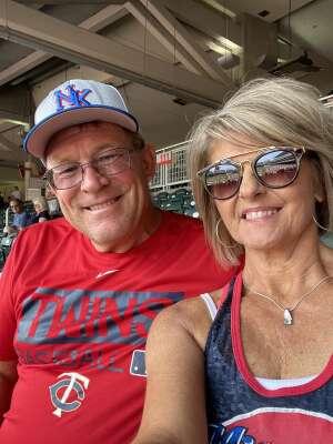 Mike Reindl  attended Minnesota Twins vs. Detroit Tigers - MLB on Jul 11th 2021 via VetTix