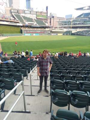 Michael closson attended Minnesota Twins vs. Los Angeles Angels - MLB on Jul 22nd 2021 via VetTix