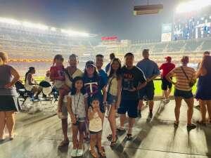 Thank you! attended Minnesota Twins vs. Los Angeles Angels - MLB on Jul 23rd 2021 via VetTix