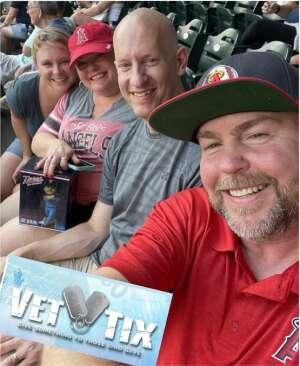 MN Angels Fan attended Minnesota Twins vs. Los Angeles Angels - MLB on Jul 23rd 2021 via VetTix