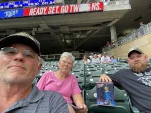 Michael attended Minnesota Twins vs. Los Angeles Angels - MLB on Jul 23rd 2021 via VetTix