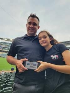 Andynkatey  attended Minnesota Twins vs. Los Angeles Angels - MLB on Jul 23rd 2021 via VetTix