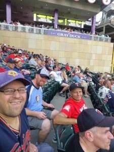 Robin attended Minnesota Twins vs. Los Angeles Angels - MLB on Jul 23rd 2021 via VetTix