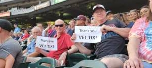 randyvalt attended Minnesota Twins vs. Los Angeles Angels - MLB on Jul 23rd 2021 via VetTix