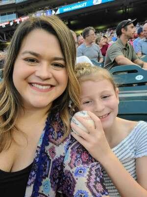Kaitlynn attended Minnesota Twins vs. Los Angeles Angels - MLB on Jul 23rd 2021 via VetTix