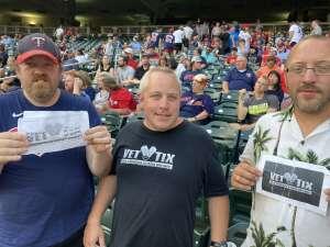 Troy attended Minnesota Twins vs. Los Angeles Angels - MLB on Jul 23rd 2021 via VetTix