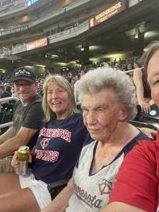 Patty attended Minnesota Twins vs. Los Angeles Angels - MLB on Jul 23rd 2021 via VetTix