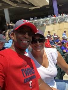 Ivan Gonerway attended Minnesota Twins vs. Los Angeles Angels - MLB on Jul 25th 2021 via VetTix