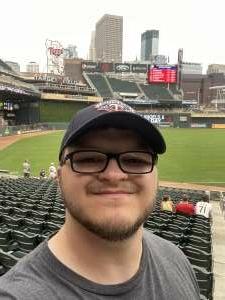 Adam Richardson attended Minnesota Twins vs. Los Angeles Angels - MLB on Jul 25th 2021 via VetTix