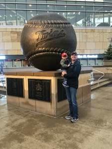 Lucas  attended Minnesota Twins vs. Los Angeles Angels - MLB on Jul 25th 2021 via VetTix