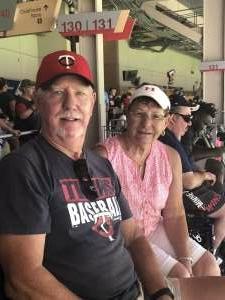 Greg Munson attended Minnesota Twins vs. Los Angeles Angels - MLB on Jul 25th 2021 via VetTix