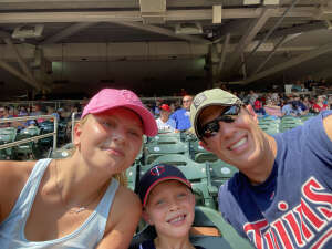 Justin attended Minnesota Twins vs. Los Angeles Angels - MLB on Jul 25th 2021 via VetTix