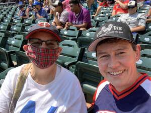 Carol attended Minnesota Twins vs. Los Angeles Angels - MLB on Jul 25th 2021 via VetTix