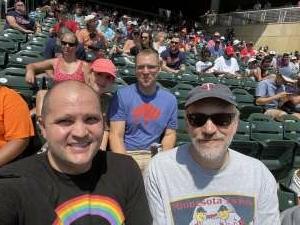 Chris Murray attended Minnesota Twins vs. Los Angeles Angels - MLB on Jul 25th 2021 via VetTix