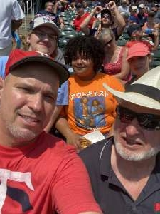 Bruce Smith attended Minnesota Twins vs. Los Angeles Angels - MLB on Jul 25th 2021 via VetTix