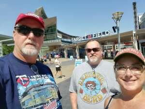 olaf424 attended Minnesota Twins vs. Los Angeles Angels - MLB on Jul 25th 2021 via VetTix