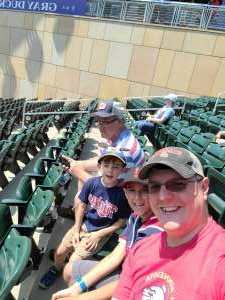 Jed attended Minnesota Twins vs. Los Angeles Angels - MLB on Jul 25th 2021 via VetTix