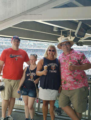Bob G. attended Minnesota Twins vs. Los Angeles Angels - MLB on Jul 25th 2021 via VetTix